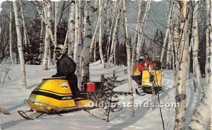 Winter Paradise Maine, ME, USA 1960