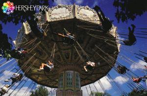 HERSHEY'S Chocolate World , Pennsylvania , 70-80s ; Swing Ride