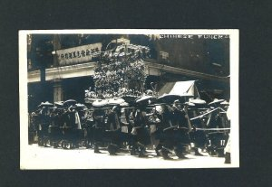 D14   AZO R.P.P.C.  Chineese Funeral  Unused 1920s