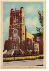 SHERBROOKE, Quebec, Canada, 1900-1910´s; L'Immaculee Conception Church