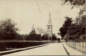 essex, East MISTLEY, New Road, St Mary's Church (1908) RPPC