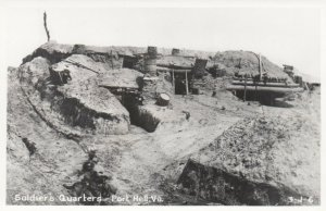 RP: FORT HELL , Virginia ,1930-40s ; Soldiers Quarters