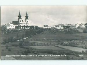 old rppc NICE VIEW Maria Taferl In Melk - Near Amstetten Austria i3424