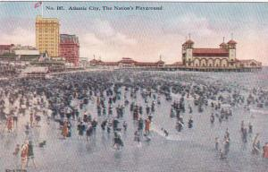 New Jersey Atlantic City The Nations Playground