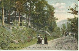 West Rockport,Maine, Ferncroft Bungalow On Mirror Lake