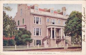 Van Lew House Richmond Virginia