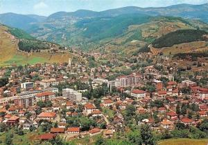 Montenegro Bijelo Polje Town General view Panoramic view