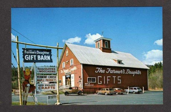VT Farmer's Daughter Country Store St Johnsbury Vermont Postcard PC