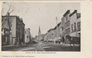 LACONIA , New Hampshire , 1905 ; Public Library BuildingMain Street