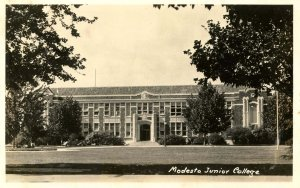 CA - Modesto. Modesto Junior College   RPPC