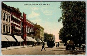 Madison Wisconsin~Schmedeman & Baillie Men's Store~The Plymouth~Burdick's c1910