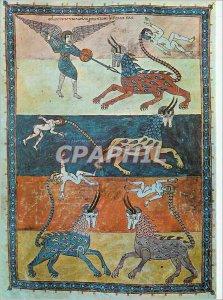 Postcard Modern Girona Tesoro de la Catedral Beato Grasshoppers As Hair