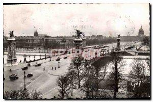 Old Postcard Paris Pont Alexandre III