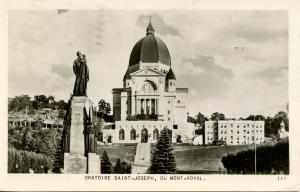 Canada - Quebec, Montreal. Oratoire St. Joseph Du Mont-Royal - RPPC