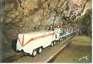 France, Les Grottes de Betharram, Le Train, unused Postcard