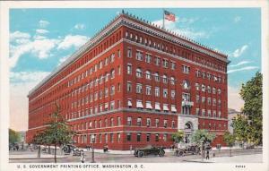 U S Government Printing Office Washington DC
