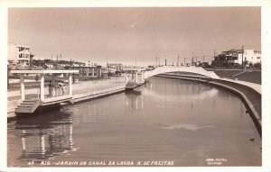 Canal da Lagoa R de Freitas Rio De Janeiro Brazil, Brasil Unused