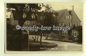 tp0360 - Derbys - The Guest House and Garden c1934, in Hope  - Postcard
