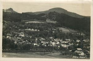 Bohm. Kamnitz Česká Kamenice Czech R. photo postcard