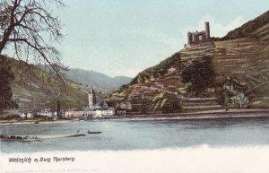 RHINELAND-PALATINATE, Germany, 1900-1910s; Welmich M. Burg Thurnberg