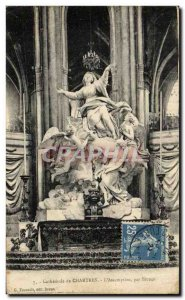 Old Postcard Cathedral of Chartres L & # 39Assomption by Bridan