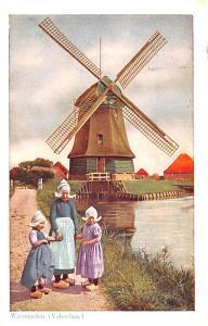 Volendam Holland Watermolen Volendam Watermolen