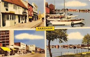 Fareham High Street, The Quay, West Street, Quay from Recreation Ground