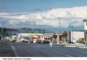 Market Street Port Hardy Vancouver British Columbia Canada