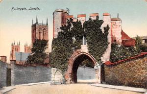 Lincoln United Kingdom, Great Britain, England Pottergate Lincoln Pottergate