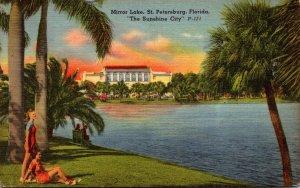 Florida St Petersburg Mirror Lake