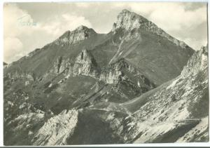 Slovakia, Belianske Tatry - Vidla a Havran 1966 used real photo Postcard