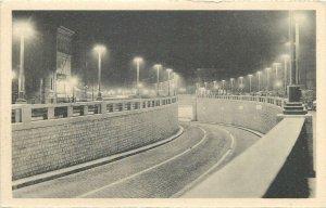 Postcard Belgium Anvers tunnel pour vehicules sous l'Escaut