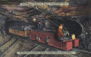 Coal Mining, Pennsylvania , 1930-40s ; Electric Locomotive