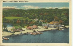 Naples, Maine, Aerial View Waterfront