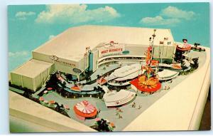 Pepsi Cola Pavilion New York Worlds Fair Walt Disney UNICEF Vintage Postcard D81