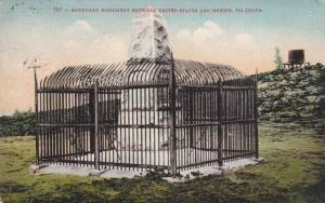Boundary Monument between United States and Mexico, Tia Juana, PU-1910