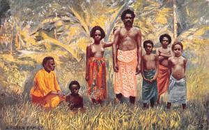 Fiji Fijian Family  Fijian Family
