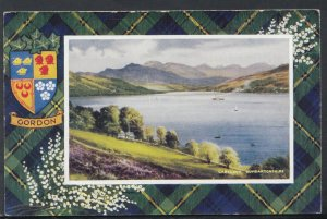 Scotland Postcard - Gareloch, Dumbartonshire - Gordon Tartan   RS17374