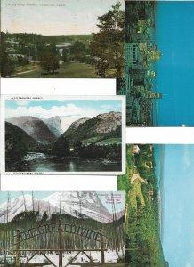 Canada Quebec Niagara Montreal Ontario and more Postcard Lot of 10 01.13