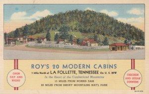 LA FOLLETTE , Tennessee , 1930-40s ; Roy's 20 Modern Cabins
