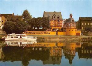 Lahnstein Wirtshaus an der Lahn Schiff