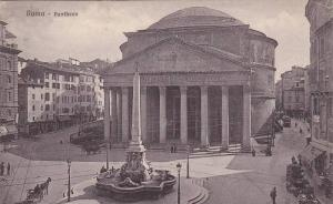 Pantheon, Roma (Lazio), Italy, 1900-1910s