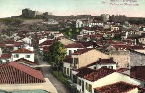 greece, PATRAS PATRA Πάτρα, Panorama (1920s) Postcard