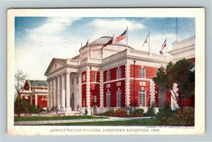 Jamestown Exposition 1907 No. 185 Administration Building - Official Postcard