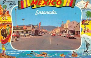 Mexico Postcard Tarjeta Postal Ensenada