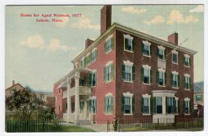 Salem, Mass, Home for Aged Women, 1877