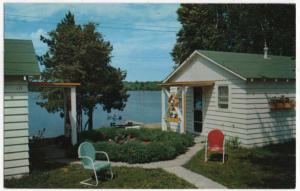 Iron Mountain, Michigan,  View of The Vagabond Resort, 1954