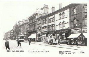 Lancashire Postcard - Old Blackburn - Victoria Street c1923 - Ref 2226