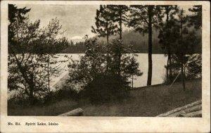 SPIRIT LAKE ID Water View c1910 Postcard