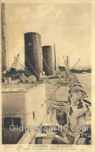 SS Ile De France Steamer, Steam Boat, Ship Ships, Postcard Postcards  SS Ile ...